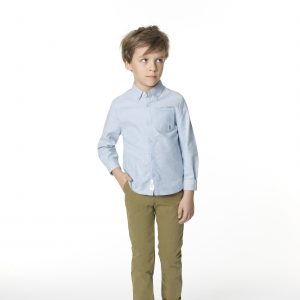 Carrément Beau  - OXFORD SHIRT LIGHT BLUE - Clothing