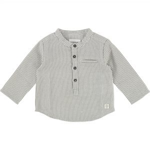 Carrément Beau  - BABY GRID SHIRTS GREY - Clothing