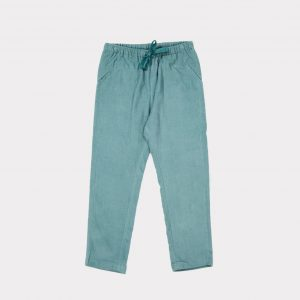 Caramel  - CAT TROUSERS CAMEO BLUE - Clothing