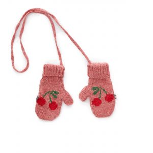 Oeuf NYC  - CHERRY MITTENS ROSE PINK - Accessories