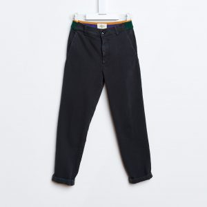 Bellerose  - LAORI PANTS DARK GREY - Clothing