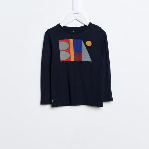 Bellerose  - KENO T-SHIRT NAVY - Clothing