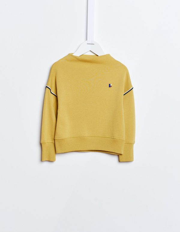 Bellerose  - FANEE SWEATSHIRT YELLOW - Clothing