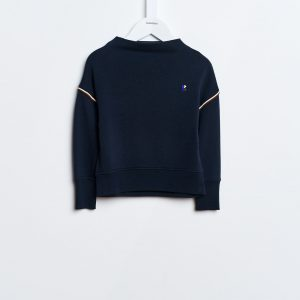 Bellerose  - FANEE SWEATSHIRT NAVY - Clothing