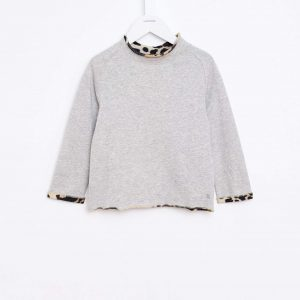 Bellerose  - BABY SWEATSHIRT GREY - Clothing