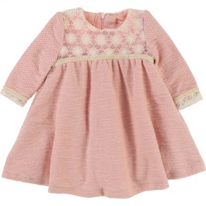 Billieblush  - GLITTERY KNITTED BABY DRESS - Clothing