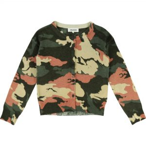 Zadig & Voltaire  - CAMOUFLAGE WOOL CARDIGAN - Clothing