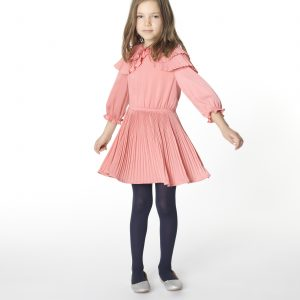 Carrément Beau  - SATIN DRESS PINK - Clothing