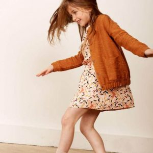 Blune  - CHAMP LIBRE DRESS APRICOT - Clothing