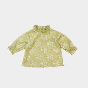 Caramel  - LADYBIRD BABY BLOUSE LIBERTY CAPEL SAGE - Clothing
