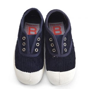 Bensimon  - KIDS ELLY TENNIS CORDUROY NAVY - Footwear