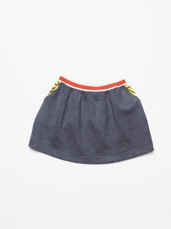 Leoca  - DROITY SKIRT GREY - Clothing
