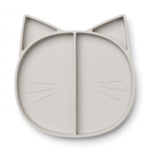 Liewood  - MADDOX MULTI PLATE CAT DUMBO GREY - Homeware