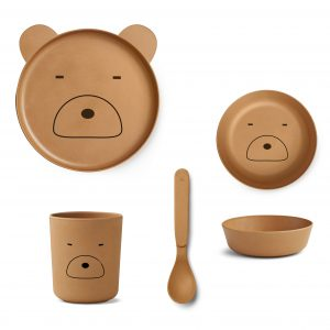 Liewood  - BAMBOO BOX SET MR BEAR MUSTARD - Homeware