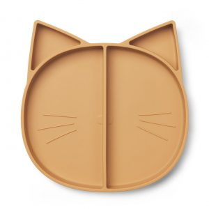 Liewood  - MADDOX MULTI PLATE CAT MUSTARD - Homeware
