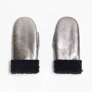 Toasties  - MITTENS ADULT METALLIC SILVER - Accessories