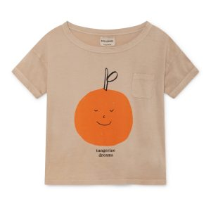 Bobo Choses  - TANGERINE DREAMS SHORT SLEEVE T-SHIRT - Clothing
