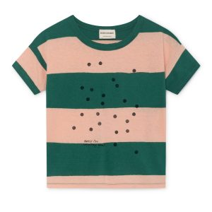Bobo Choses  - BEES LINEN T-SHIRT - Clothing