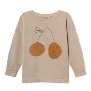 Bobo Choses  - CHERRY ROUND NECK SWEATSHIRT - Clothing
