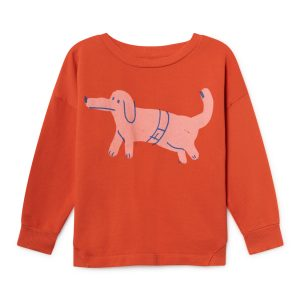 Bobo Choses  - PAUL'S DOG ROUND NECK SWEATSHIRT - Clothing