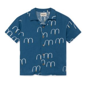 Bobo Choses  - BIRDS HAWAIANA SHIRT - Clothing