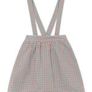 Bobo Choses  - VICHY BRACES SKIRT - Clothing