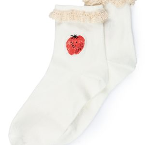 Bobo Choses  - STRAWBERRY SHORT SOCKS - Clothing