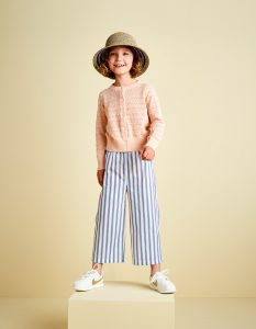 Bellerose  - APRIL PANTS STRIPE - Clothing