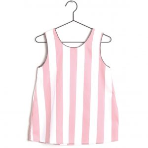 Wolf & Rita  - CATIA TOP PINK STRIPES - Clothing