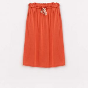 Bellerose  - ABA SKIRT ORANGE - Clothing