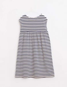 Bellerose  - MAQUI DRESS BLUE STRIPE - Clothing