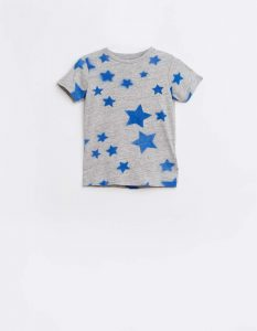 Bellerose  - VIGO STAR T-SHIRT GREY - Clothing