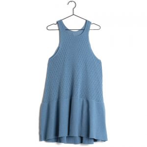 Wolf & Rita  - ANDREIA DRESS PALE BLUE - Clothing