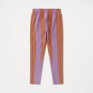 Repose AMS  - WARM EARTHY LILAC STRIPE PANTS - Clothing