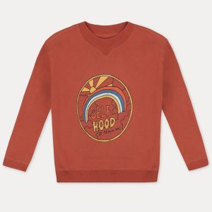 Repose AMS  - COZY STONE BRICK CLASSIC SWEATSHIRT - Clothing