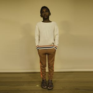 Repose AMS  - SAND IVORY KNIT SWEATER - Clothing
