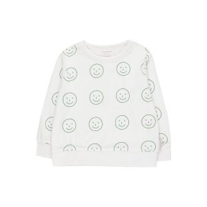 Tinycottons  - HAPPY FACE SWEATSHIRT - Clothing