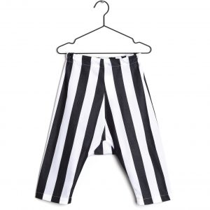 Wolf & Rita  - ALVARO TROUSERS WHITE STRIPES - Clothing