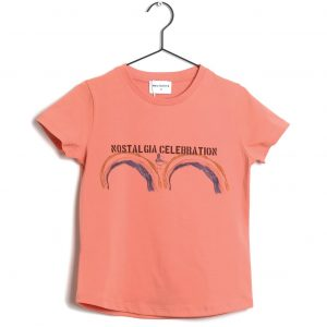 Wolf & Rita  - SEBASTIAO T-SHIRT ORANGE - Clothing