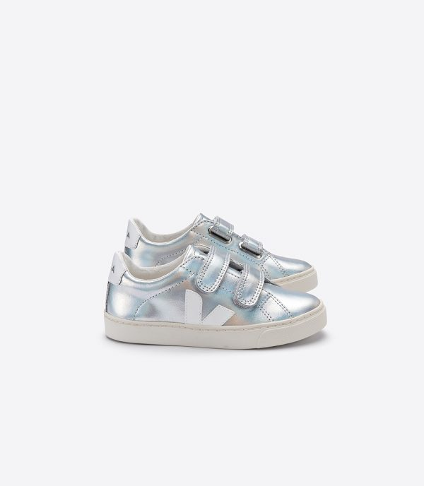 Veja  - ESPLAR SMALL VELCRO UNICORN WHITE - Footwear
