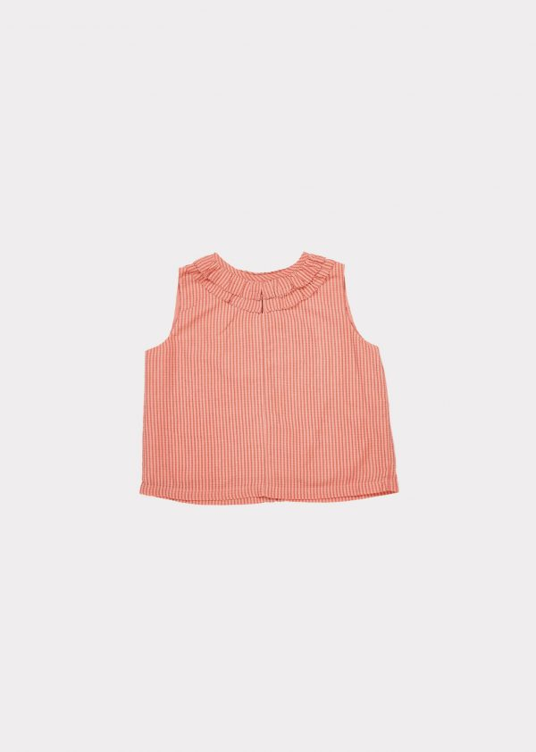 Caramel  - BEGONIA TOP CLAY - Clothing