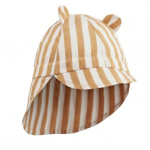 Liewood  - GORM SUN HAT MUSTARD STRIPE - Accessories