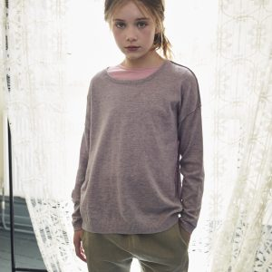 Caramel  - LOTUS JUMPER LAVENDER - Clothing