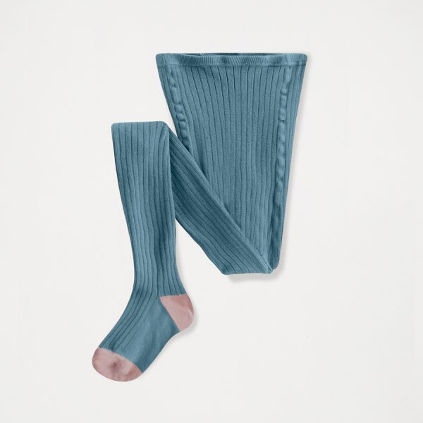 Repose AMS  - TIGHTS AGED BLUE SOLID - Clothing