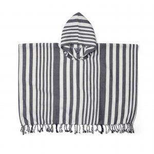 Liewood  - ROOMIE PONCHO NAVY STRIPE - Clothing