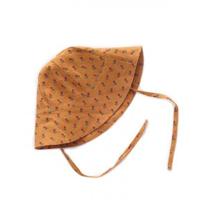 Oeuf NYC  - OCHRE TULIPS BABY HAT - Accessories