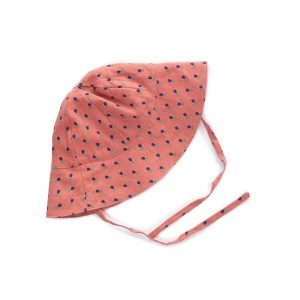 Oeuf NYC  - RUST TULIPS BABY HAT - Accessories