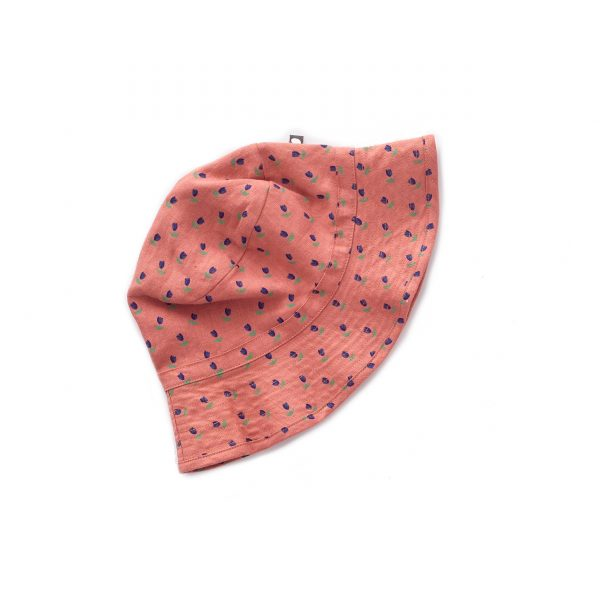 Oeuf NYC  - RUST TULIPS KID HAT - Accessories
