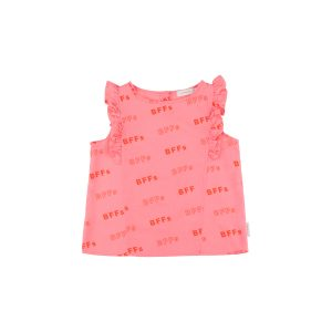 Tinycottons  - BFFs RUFFLES BLOUSE - Clothing