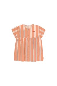 Tinycottons  - RETRO STRIPES SS DRESS - Clothing